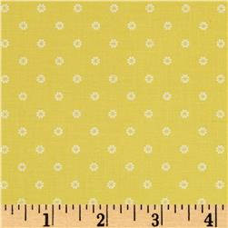 First Blush Daisy Dot Yellow