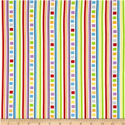 Promises Geo Stripe White/Multi