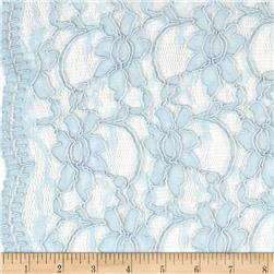 Xanna Lace Light Blue Fabric