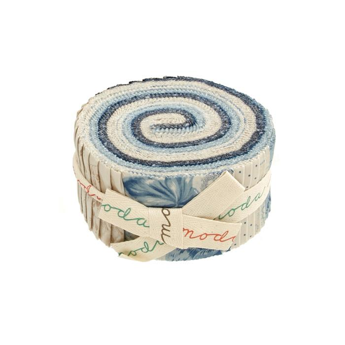 Moda Cold Spell Prints 2.5 In. Jelly Roll