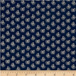 Carolina Blues Spiral Navy