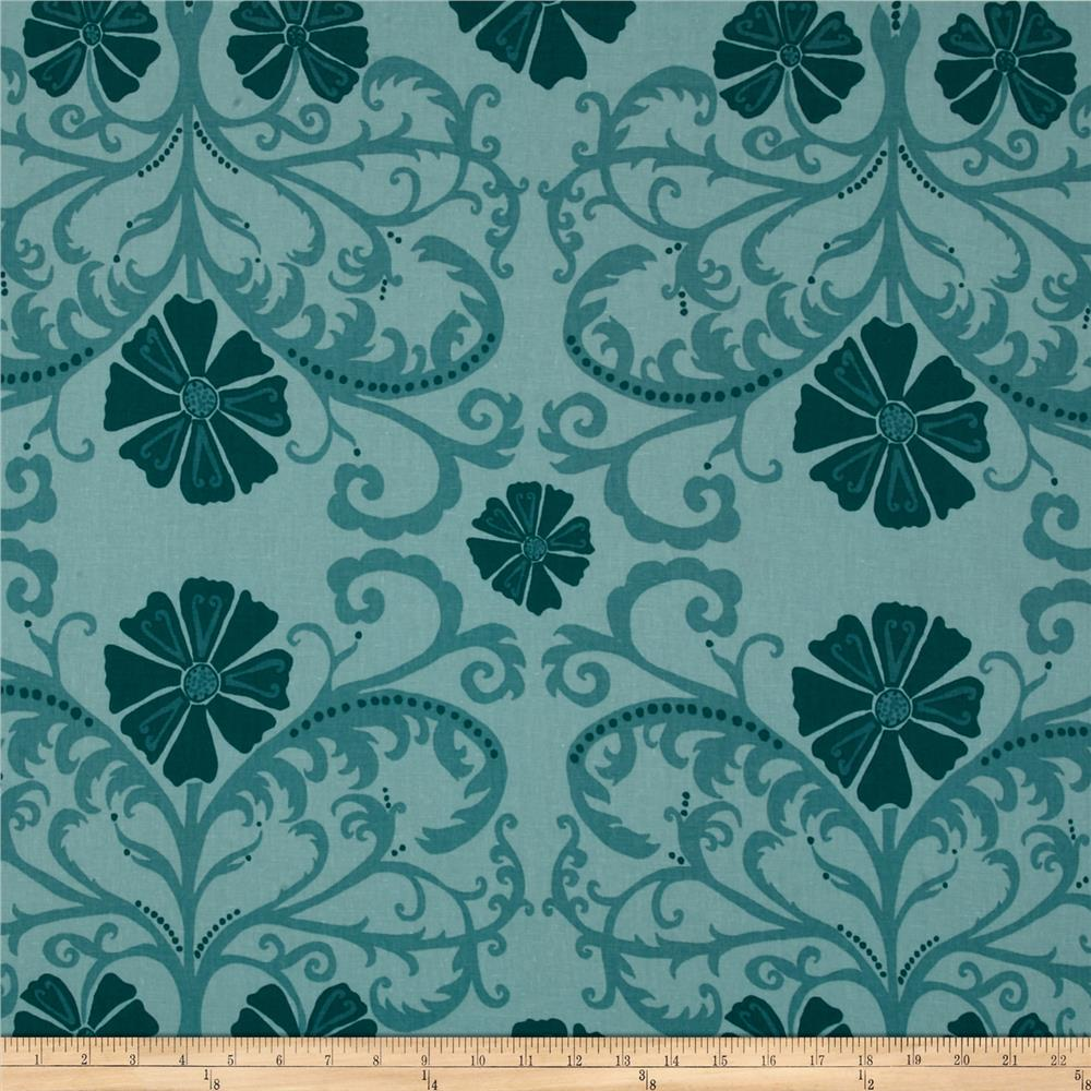 Valori Wells Home Décor Linen Blend Tribal Floral Sage