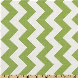 Riley Blake Chevron Medium Green