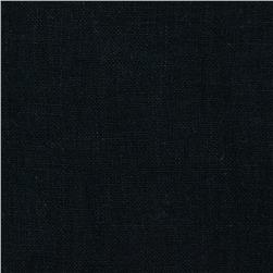 Mozart Linen Black Fabric