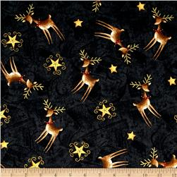 Santa's Big Night Reindeer Toss Black