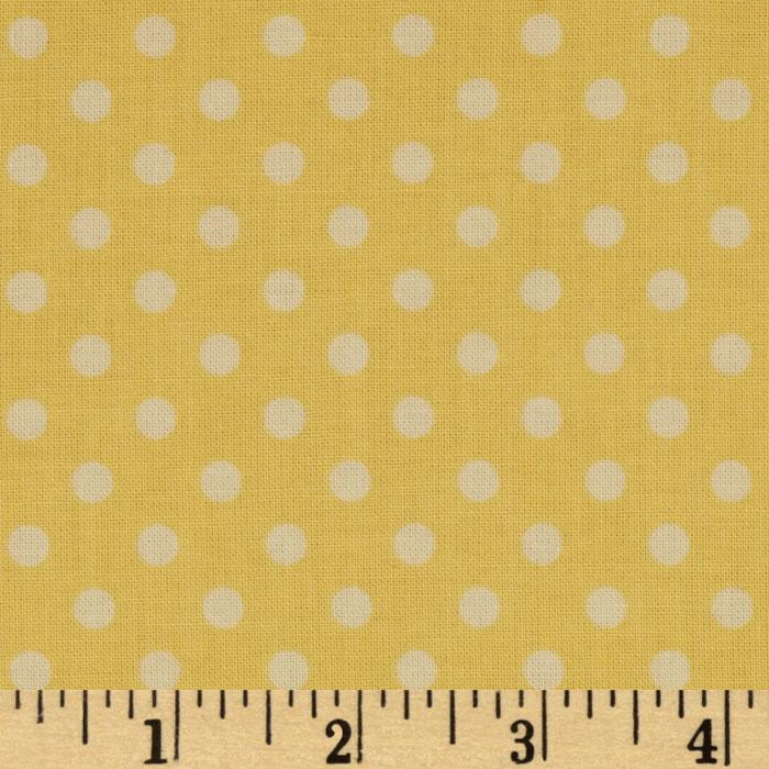 Vintage Baby Dot Yellow