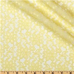 Floral Lace Yellow