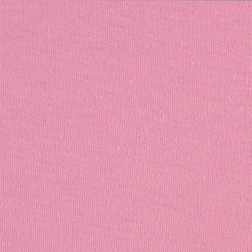 Cotton Jersey Knit Solid Sherbet Pink
