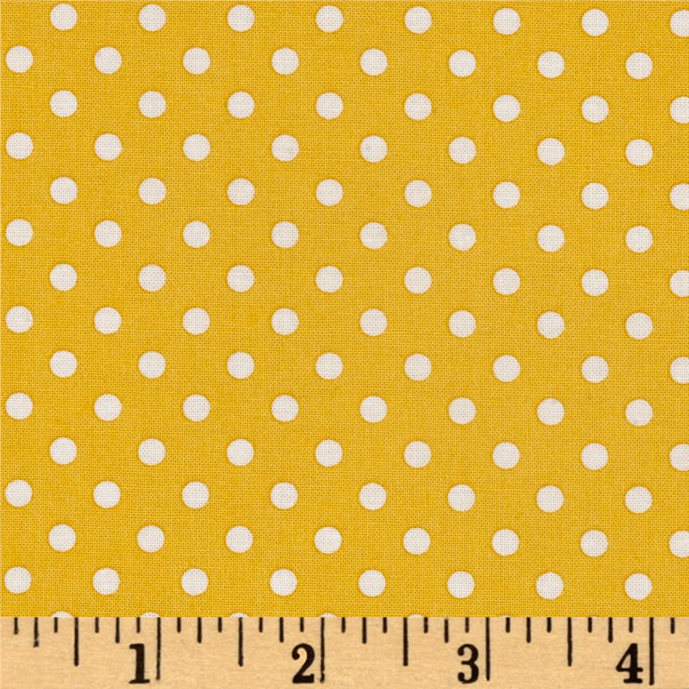 Quilt Camp Dot Yellow