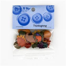 Dress It Up Embellisment Buttons  Mm Thanksgiving