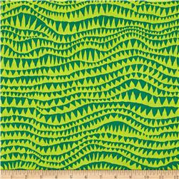 Brandon Mably Spring 2017 Sharks Teeth Green