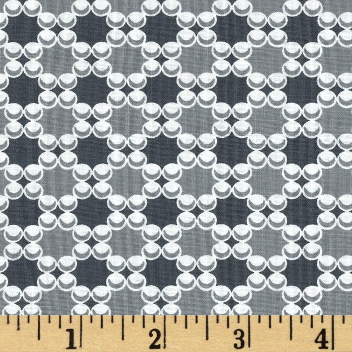 Downtown Dots & Plaids Gray