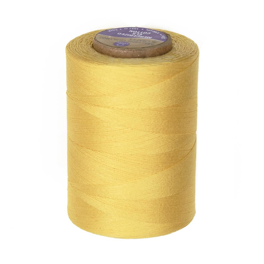 Cotton Machine Quilting Thread 1200 YD Yellow