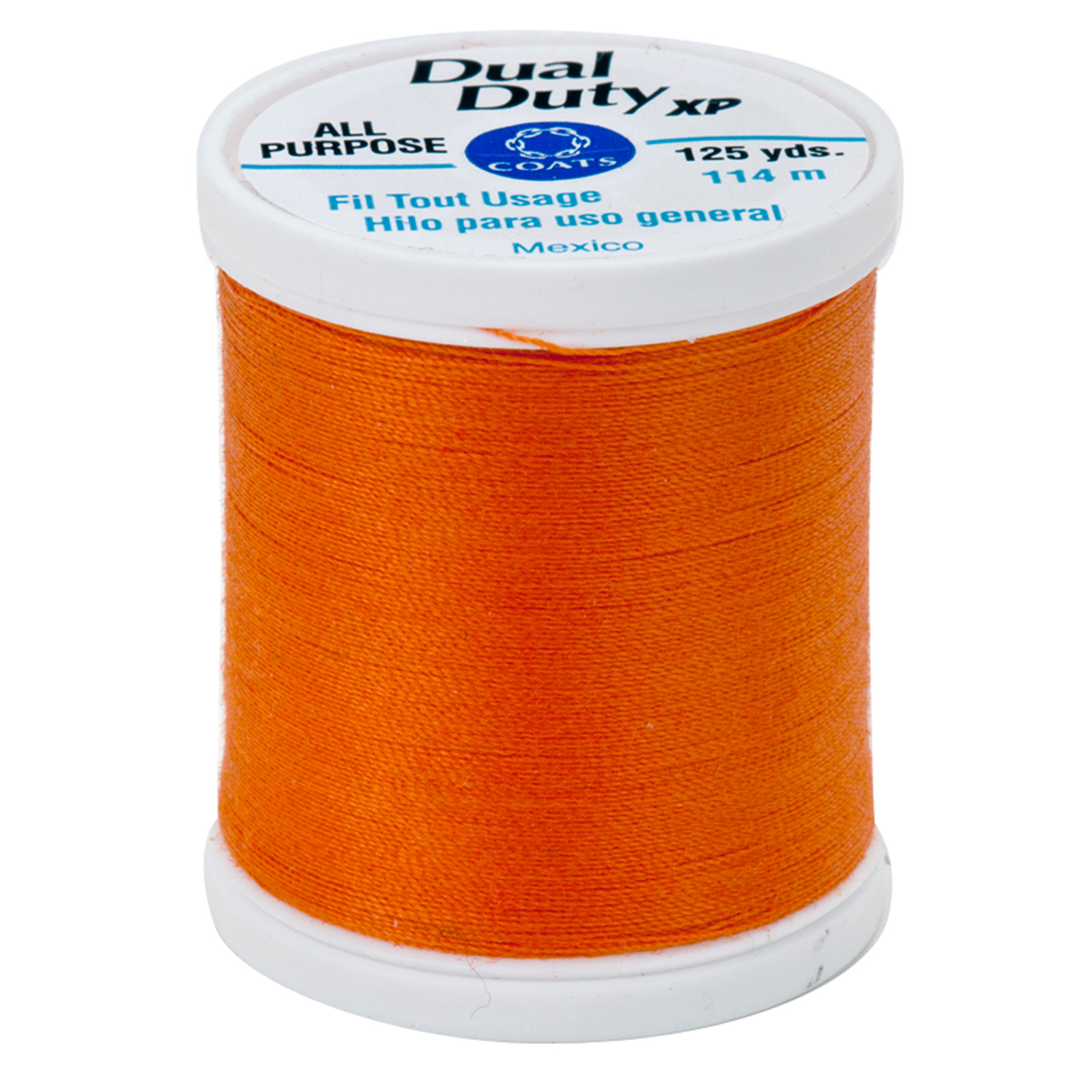 Coats & Clark Dual Duty XP 125yd Kumquat