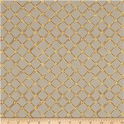A Lazy Afternoon Rope Netting Plaid Tan