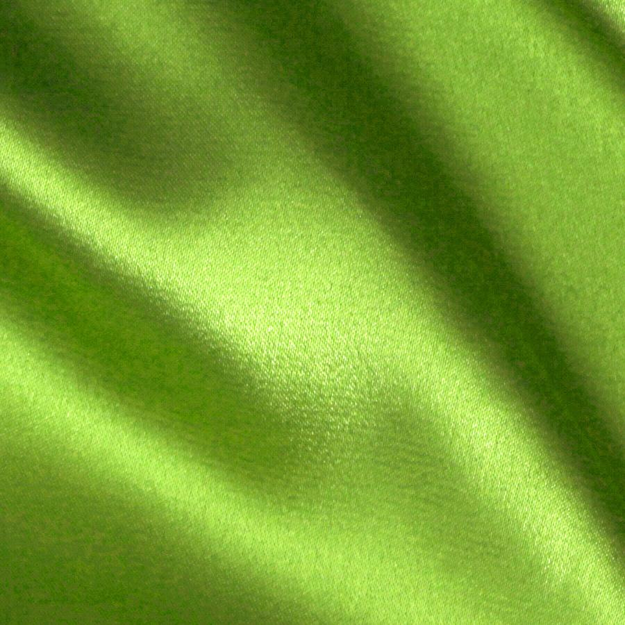 Stretch Charmeuse Satin Lime