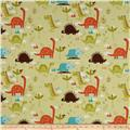 Riley Blake Home Decor Dinosaur Green