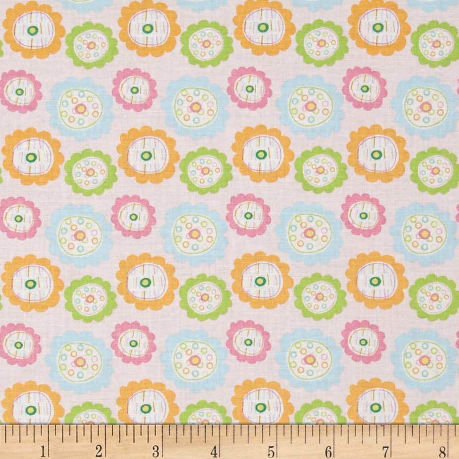 Riley Blake Owl & Co. Owl Floral Pink