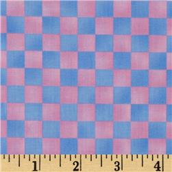 Graphix Checkered Pink Light Blue