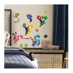 Super Mario Wii Wall Decal