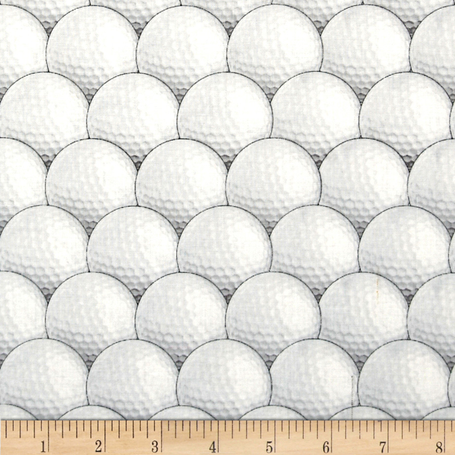 In the Game Allover Golf Balls White