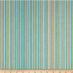 Riley Blake Summer Breeze Stripe Blue