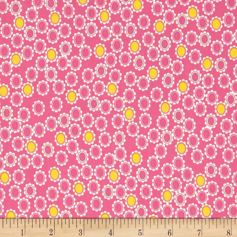 Art Gallery Sugar Lacy Charms Pink