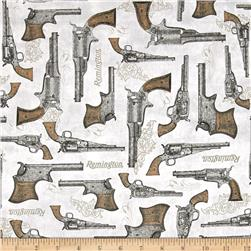 Classic Remington Guns Grey