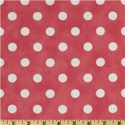 Moda Dottie (#45008-30) Pink/White Fabric