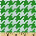 Michael Miller Everyday Houndstooth Mint