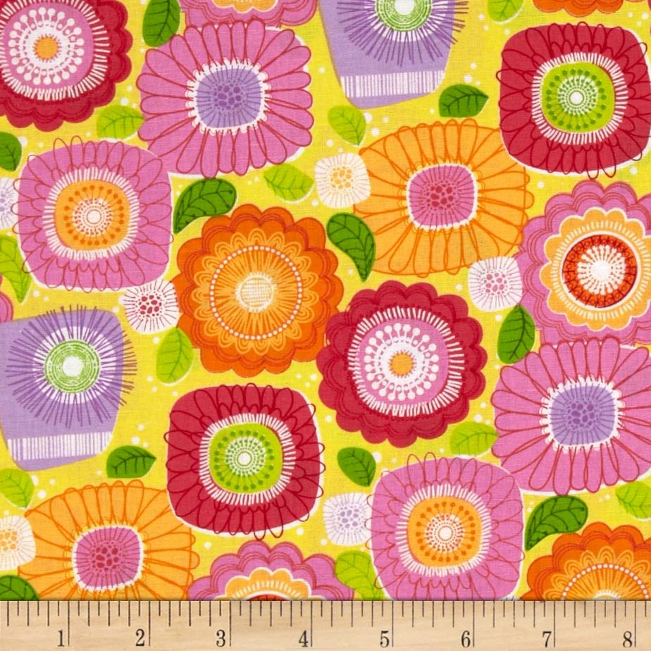 Sweet Tweet Sunshine & Flowers Yellow/Multi