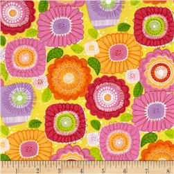 Sweet Tweet Sunshine & Flowers Yellow Multi
