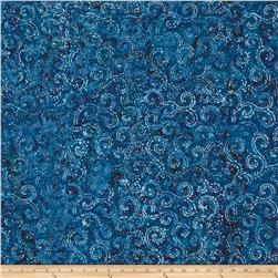 Anthology Batiks Floral Blue
