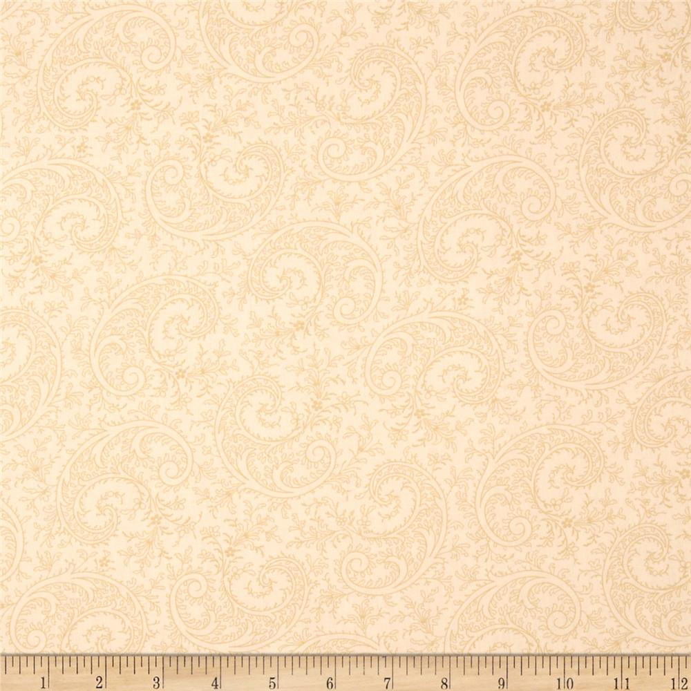 "Good Measure 2 114"" Wide Back Paisley Ecru"