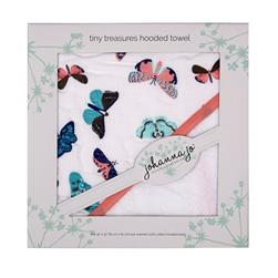 Shannon Johanna Jo Tiny Treasures Hooded Towel Mariposa