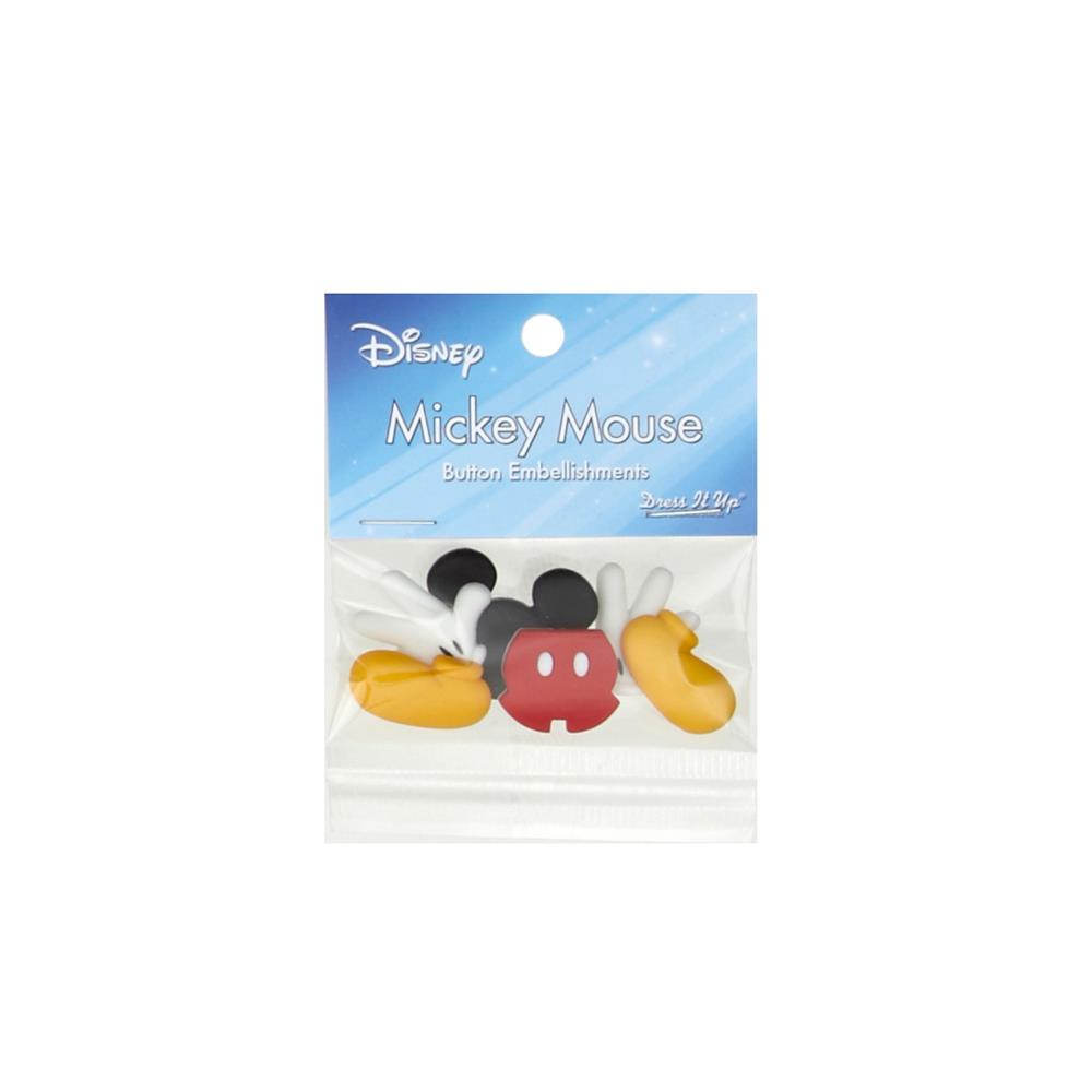 Dress It Up Disney Mickey Mouse (Everything Mickey) Button