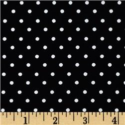 Pimatex Basics Mini Dot Black/White Fabric