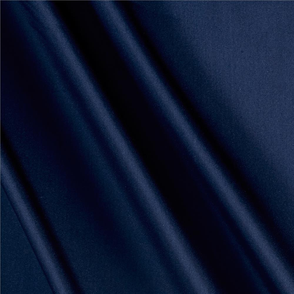 Polyester Lining Solid Blue