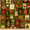 Christmas Patchwork Green
