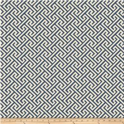 Vern Yip 03359 Jacquard Greek Key Navy
