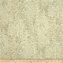 110 In. Wide Quilt Back Cream/Green
