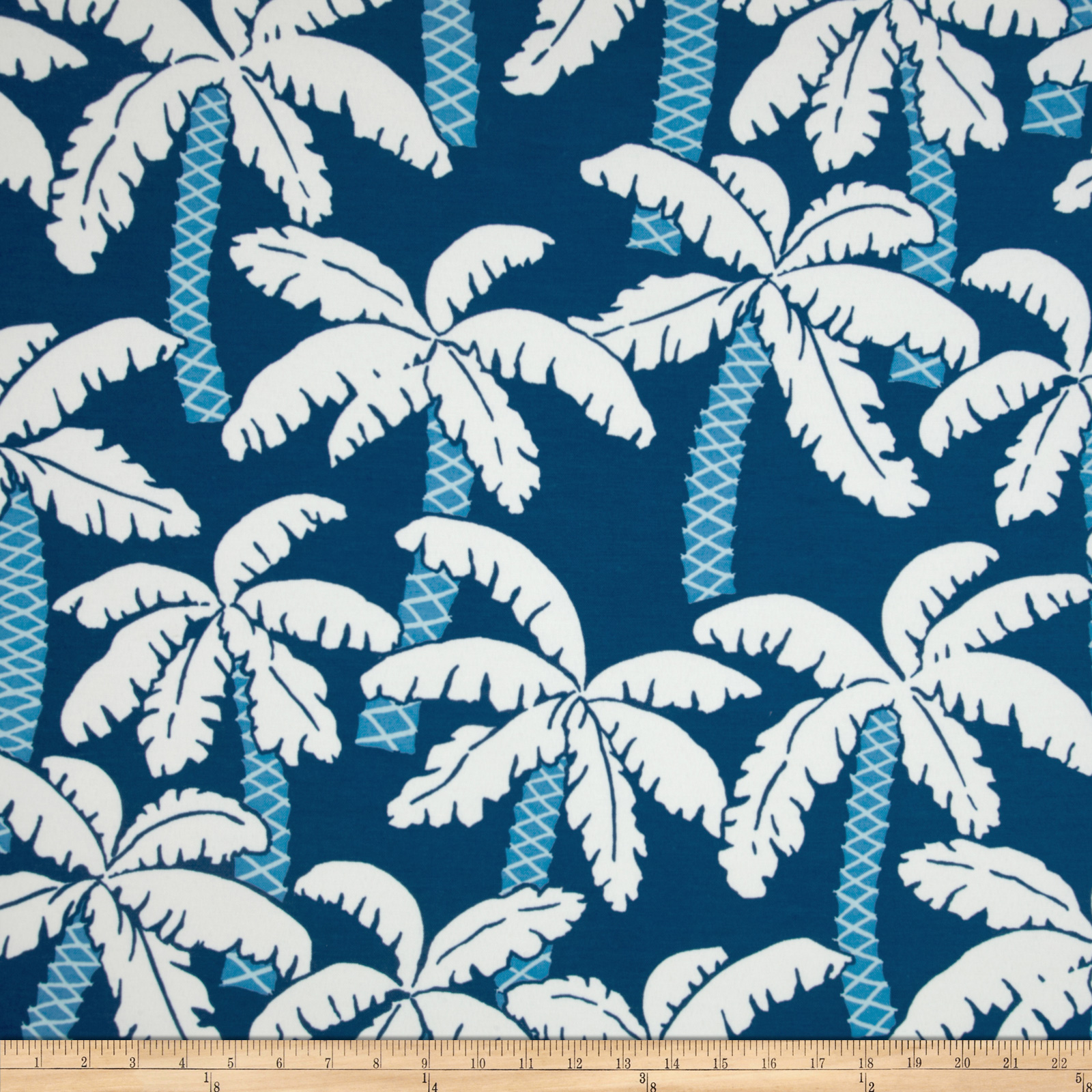 P Kaufmann Indoor/Outdoor Palm Lagoon Fabric