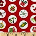 Christmas Mini Spots Red