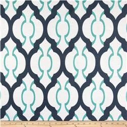 RCA Sheers Palladio Navy/Teal Fabric