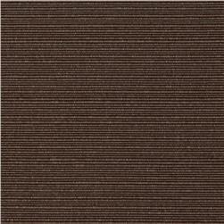 Sundial Indoor/Outdoor Solid Ribbed Brown