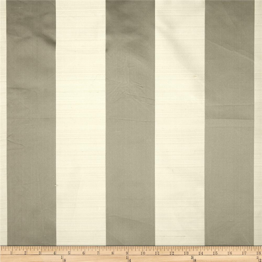 Robert Allen Promo Satin Smooth Silk Satin Jacquard Stripe Mica