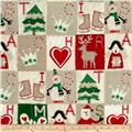 Craft Paper Christmas Blocks Multi