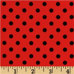 Michael Miller Dumb Dot Cherry Fabric