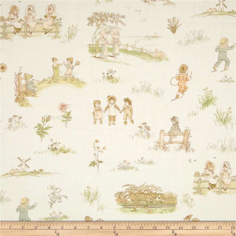 Lecien Kate Greenaway Scenic Cream