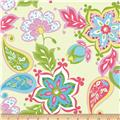 Riley Blake Splendor Large Floral Green